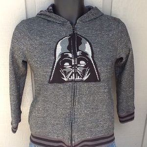 Star Wars Darth Vader Boys Zip up Hoodie 14/16